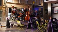 Jazz op een pleintje