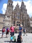 Aankomst in Santiago de Compostela!