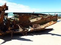 Shipwreck on Fraser