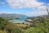 Het schiereiland bij Christchurch