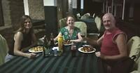 Eten met Stefanie en Claudia