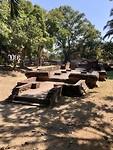 Tempelresten in de oude stad Wiang Kum Kam