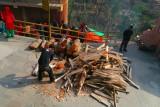 brandhout voor de keuken