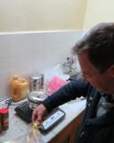 koken op één inductieplaatje