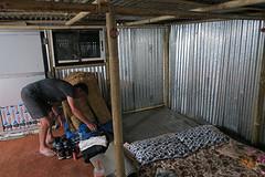 Slapen in een shelter