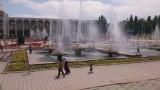 Centraal plein in Bishkek