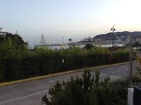 Zicht op Ajaccio vanuit het hotel