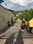 De trappen naar de burcht