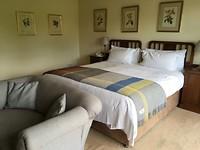 Onze hotelkamer in Rathmullan house