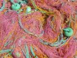 Kleurrijke vissersnetten