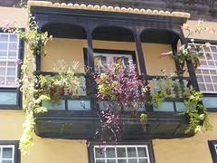 De beroemde balkonnetjes in de hoofdstad