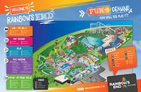 Rainbows-End Park plattegrond