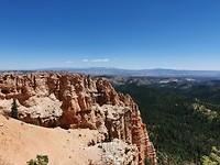 Het uitzicht blijft spectaculair