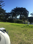 Laatste camping aan Tasman zee,  Muriwai beach