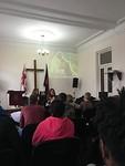 Kinderpreekje in de kerk