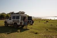 Koffiepauze aan de Zambezi