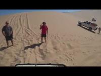 Skeleton Coast, Namibie Slipface