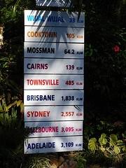 Van Sydney naar Cairns