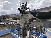 Monument voor de Inca Battle