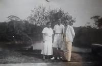 Edu met zijn ouders Antonius en Jacoba