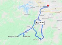 Bandung, Situ Patengan, Situ Cileunca, Kawah Putih, Bandung