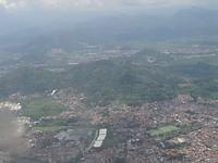 Bandung vanuit de lucht