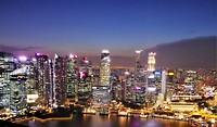 Singapore night time