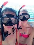 Salt snorkel faces