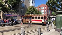 Cable Car turningpoint (San Francisco)