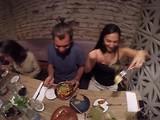 Uit eten met de familie Garcia