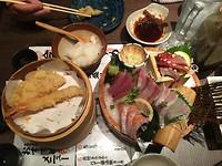 Lekkere vis en tempura!