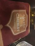 café zonder volk, mèt Chimay bierkaartjes