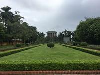 park bij Ho Chi Minh mausoleum
