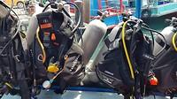 My dive equipment (zelf opgezet, trots :p)