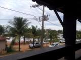 Vanuit het strandhuis in Iriri