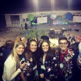 Carnaval met the belgium crew