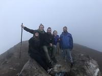 Summit Acatenango vulkaan