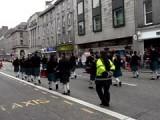 Optocht in Aberdeen!!