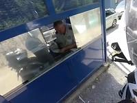 Grenspost Bosnië