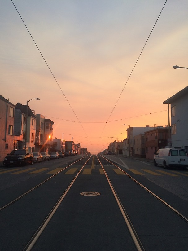 Sunset in Sunset