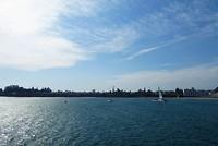 Santa Cruz uitzicht vanaf de pier