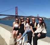 Fietstripje - Golden Gate
