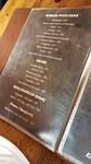 Een menukaart