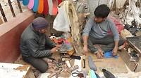 De schoenmaker op straat