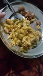 Macaroni in plaats van Dal Bhat