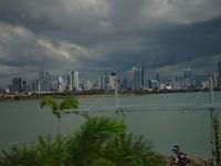 vergezicht van Panama