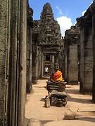 Ook in Bayon tempel
