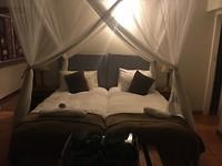 Ons romantische bed