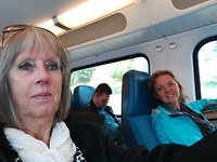 In de trein van Helmond naar Schiphol
