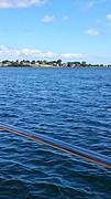 Langs de kust van Zweden bij Simrishamn